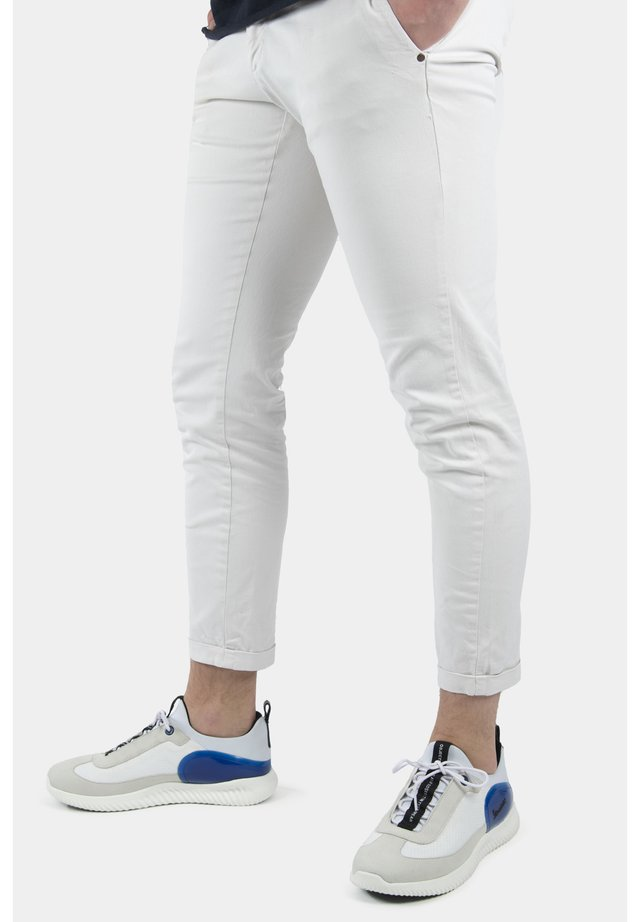 SPARK - Trainers - 1070 - bianco-blue marino