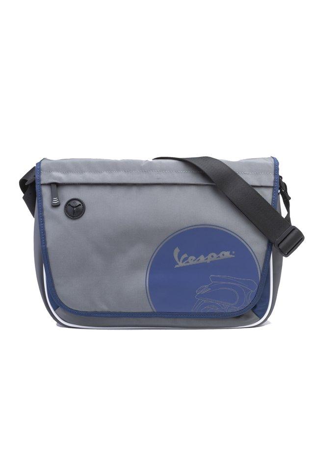 Across body bag - 9069 - grigio-blu scuro