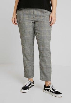Pantalon classique - grey/white