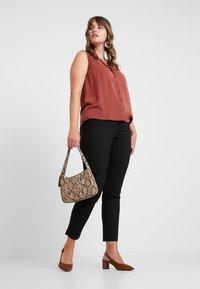 Vero Moda Curve - Trousers - black - 1