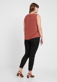 Vero Moda Curve - Trousers - black - 2