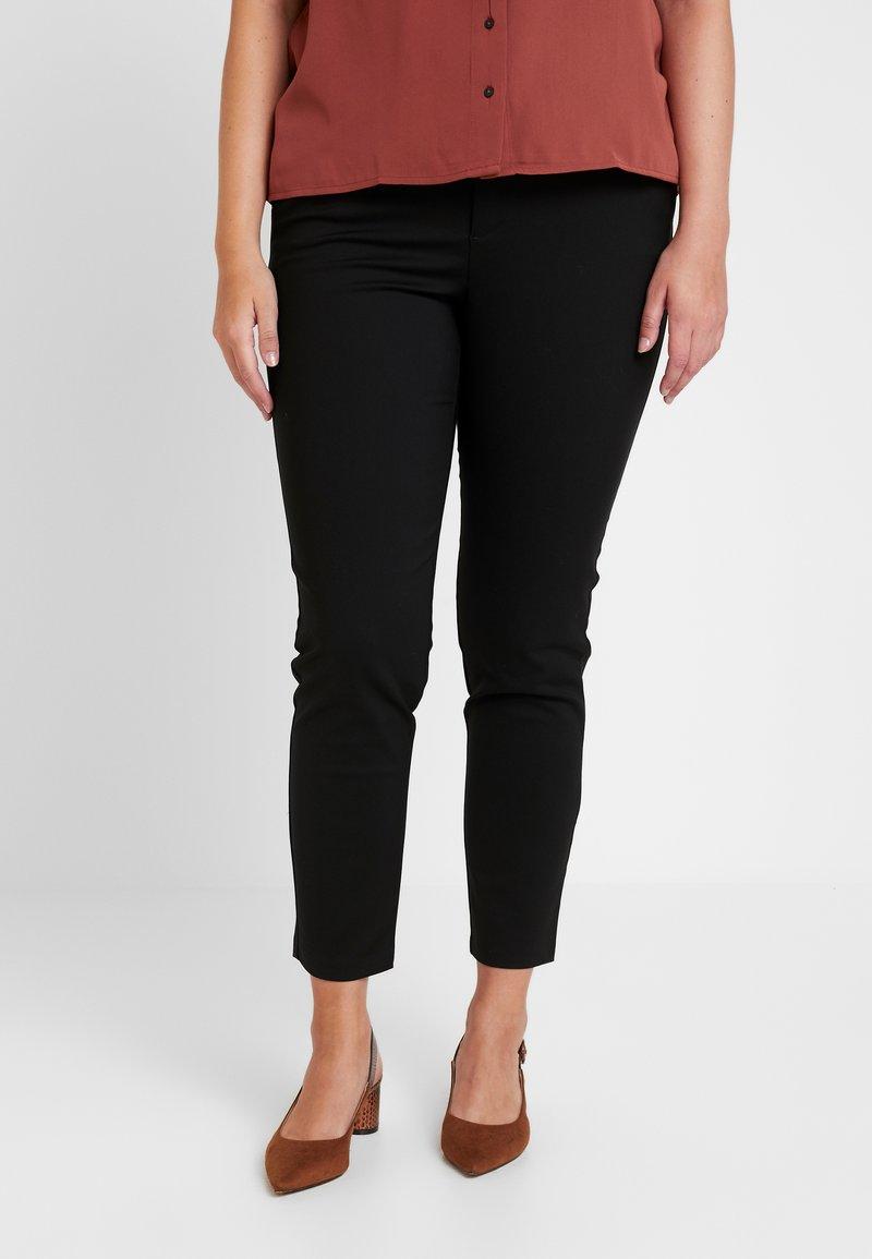Vero Moda Curve - VMLEAH CLASSIC PANT - Pantalones - black