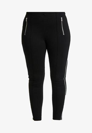 VMAVAGLITTER ZIP - Leggings - black