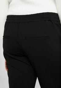 Vero Moda Curve - VMEVA STRING CURVE - Pantalones deportivos - black - 6
