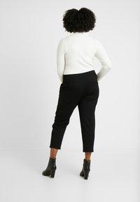 Vero Moda Curve - VMEVA STRING CURVE - Pantalones deportivos - black - 3