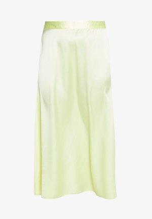 VMCHRISTAS LONG SKIRT - Maxi skirt - sunny lime