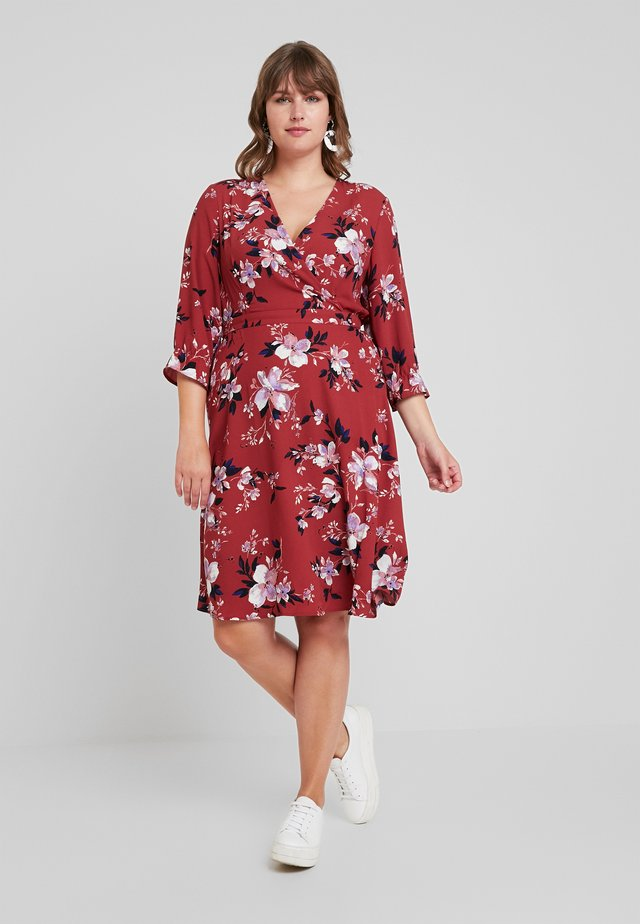Korte jurk - cowhide