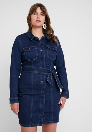 Robe d'été - dark blue denim