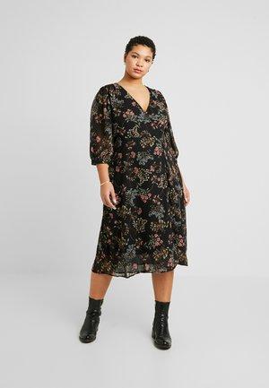 VMJULIE CALF DRESS - Korte jurk - black/julie