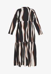 Vero Moda Curve - VMFIDELA LANKLE DRESS CURVE - Denní šaty - birch/fidela - 5