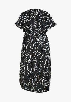 VMRICA SHIRT DRESS - Freizeitkleid - black/rica