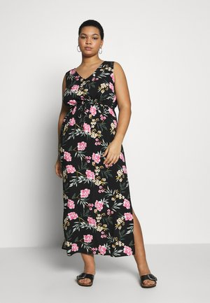 VMSIMPLY EASY TANK DRESS - Maxi dress - black