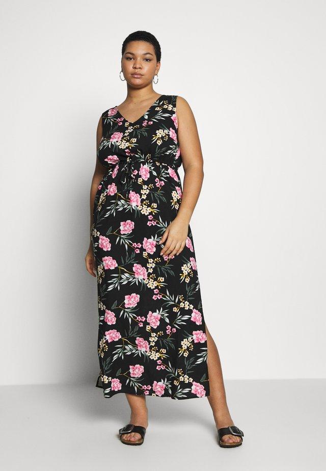 VMSIMPLY EASY TANK DRESS - Maxiklänning - black