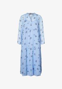 Vero Moda Curve - MIDIKLEID BEDRUCKTES - Korte jurk - placid blue - 0