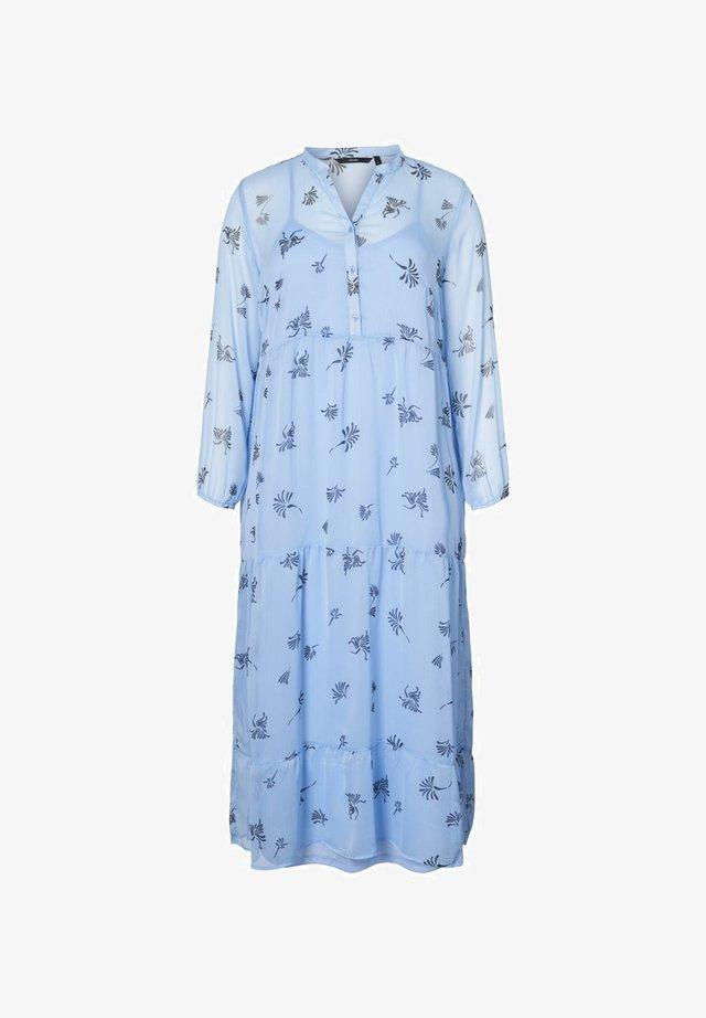 MIDIKLEID BEDRUCKTES - Korte jurk - placid blue