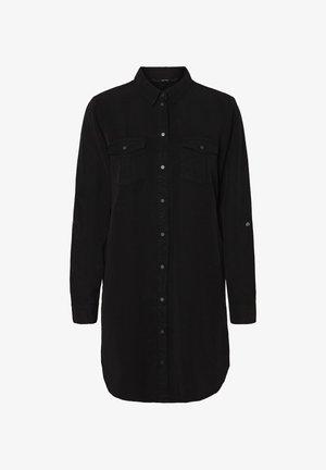 Skjortebluser - black denim