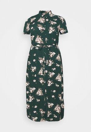 VMSIMPLY EASY LONG SHIRT DRESS - Maxi dress - ponderosa pine/sandy