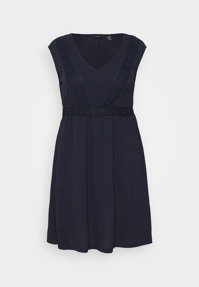 VMLINA ABOVE KNEE DRESS - Korte jurk - navy blazer