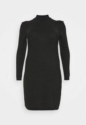 VMALYSSA HIGHNECK DRESS - Jumper dress - black