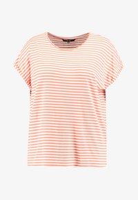 Vero Moda Curve - VMAVA PLAIN STRIPE - T-shirts med print - emberglow - 3