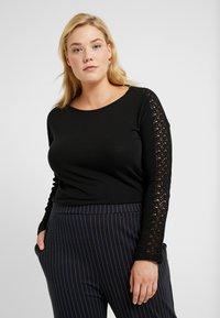 Vero Moda Curve - VMCELENA - Long sleeved top - black - 0
