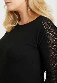 Vero Moda Curve - VMCELENA - Long sleeved top - black - 5