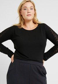Vero Moda Curve - VMCELENA - Long sleeved top - black - 3