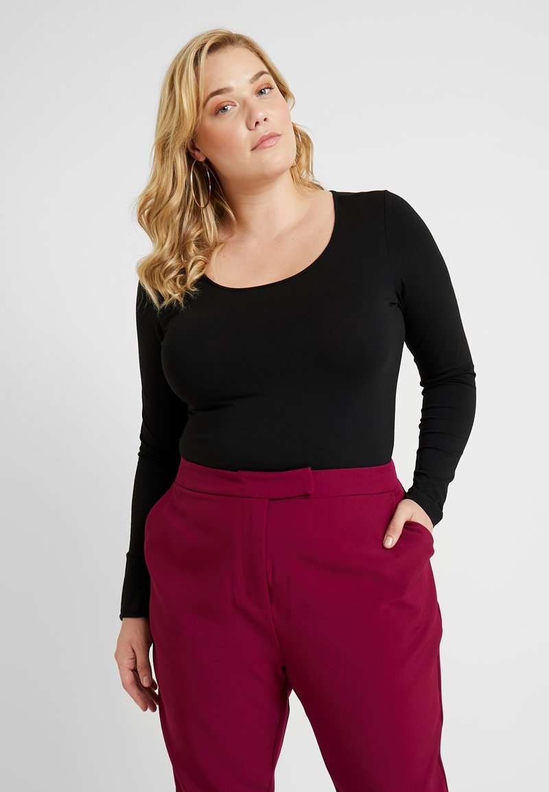 Vero Moda Curve - VMMAXI BODY - Long sleeved top - black