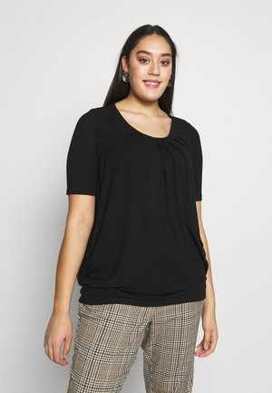 VMHONEY TEE CURVE - T-shirts - black