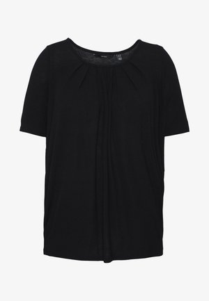 VMHONEY TEE CURVE - T-shirt basique - black