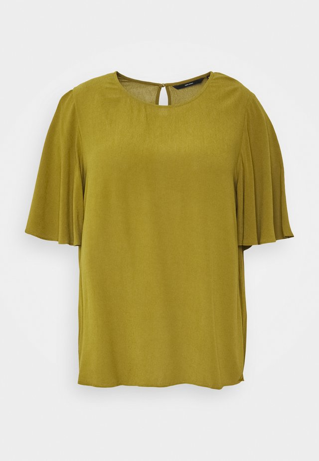 VMESTHER CURVE - T-Shirt print - fir green