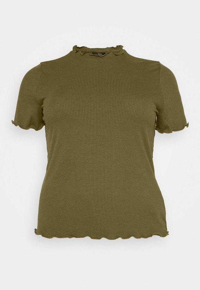 VMBREA - T-shirts med print - fir green