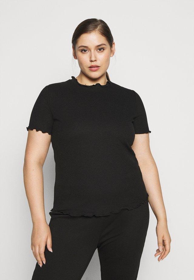 VMBREA - T-shirt print - black