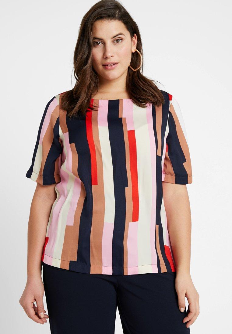 Vero Moda Curve - VMMATILDA BOATNECK - Bluse - prism pink