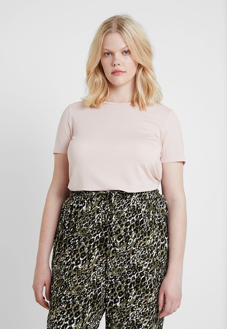 Vero Moda Curve - VMAVA - T-Shirt basic - sepia rose