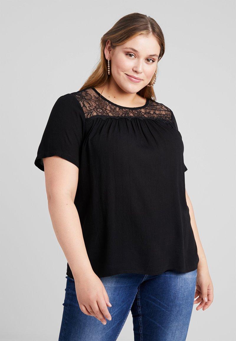 Vero Moda Curve - VMALLY - Bluse - black