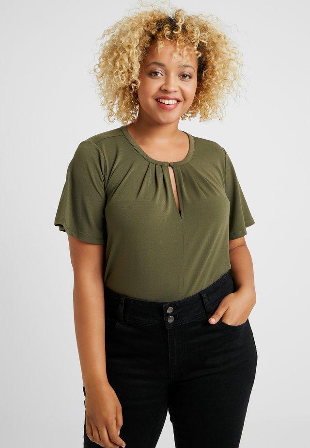 Bluse - ivy green