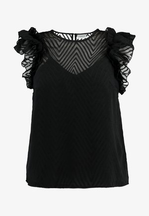 VMJADE O NECK - Blouse - black