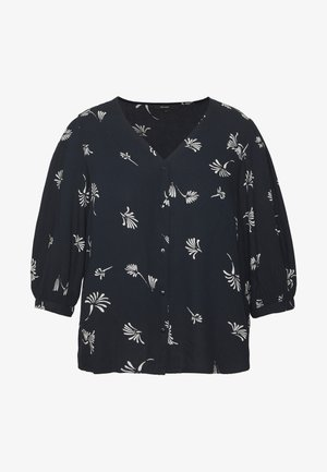 VMJILLEY V NECK - Blouse - night sky/jilley