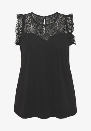 VMALBERTA SWEETHEART - Blusa - black