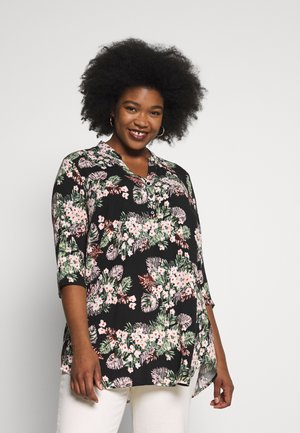 VMSIMPLY EASY 3/4 TUNIC TOP - Bluser - black