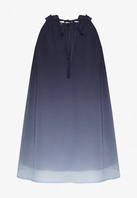Vero Moda Curve - VMLUNA TOP CURVE - Bluser - blue/light grey - 1