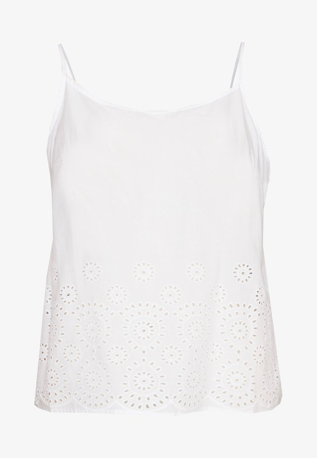 VMHALO SINGLET TOP CURVE - Top - snow white