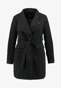 Vero Moda Curve - VMCALAMARIA JACKET - Abrigo corto - black - 3