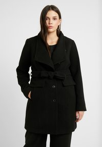 Vero Moda Curve - VMCALAMARIA JACKET - Cappotto corto - black - 0