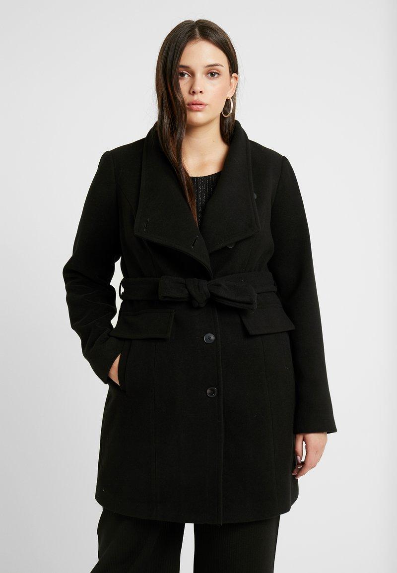 Vero Moda Curve - VMCALAMARIA JACKET - Abrigo corto - black