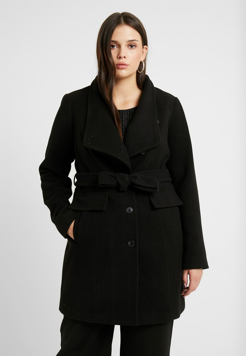 Vero Moda Curve - VMCALAMARIA JACKET - Short coat - black