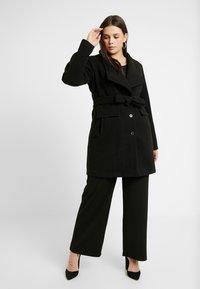 Vero Moda Curve - VMCALAMARIA JACKET - Short coat - black - 1