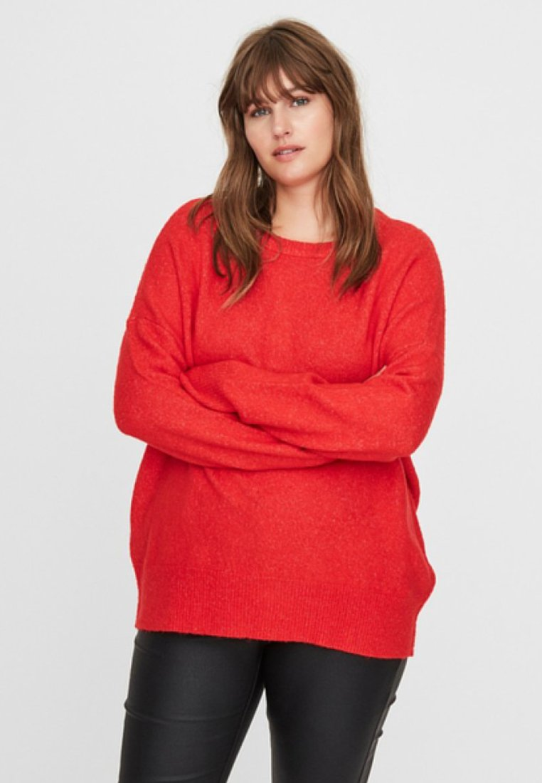 Vero Moda Curve - Pullover - high risk red