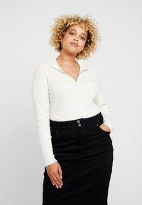 Vero Moda Curve - Pullover - pristine/antique - 0